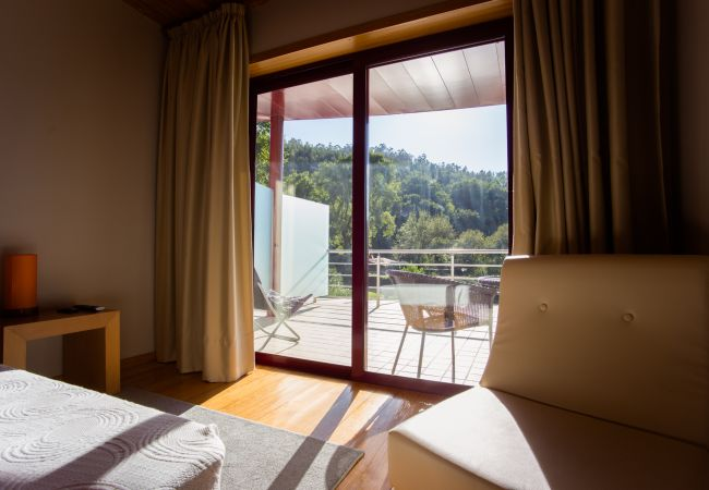 Quarto em Gerês - Quartos do Hotel Quinta do Rio Gerês