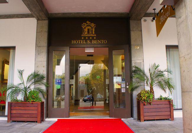 Quarto em Gerês - Hotel S. Bento **** Quarto Duplo/Twin Varanda