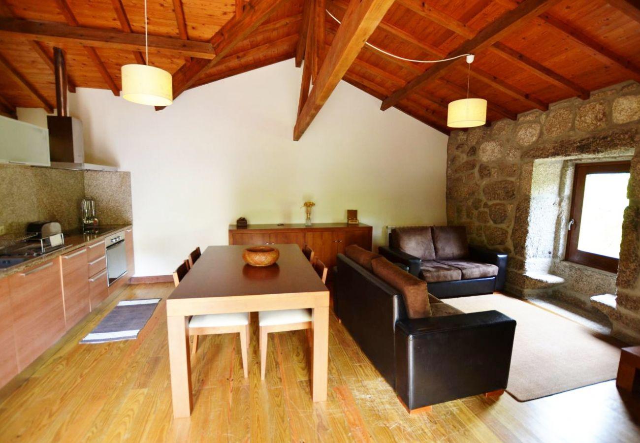 Casa rural em Vieira do Minho - Casa D. Margarida - Aldeia de Louredo