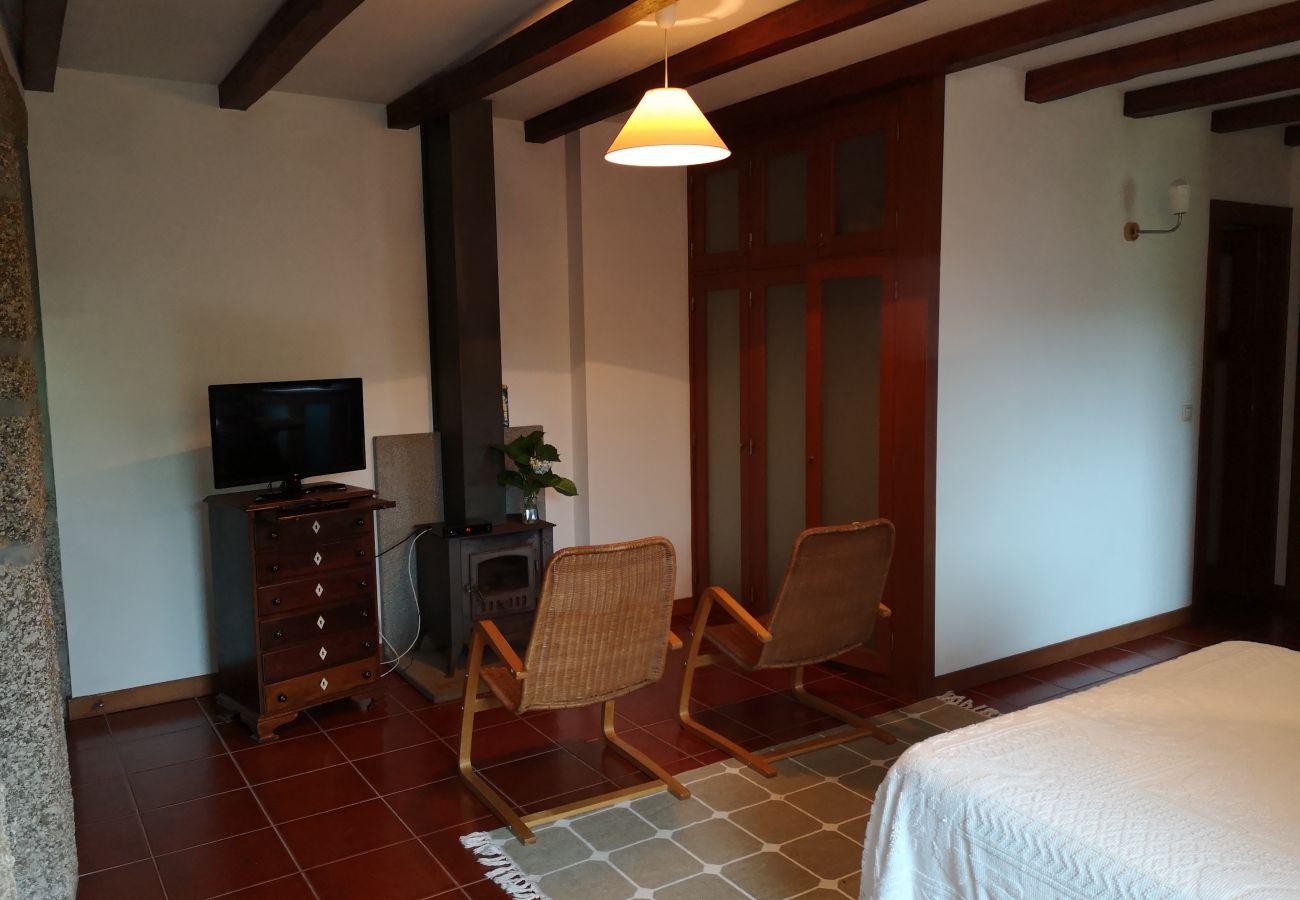 Casa rural em Vieira do Minho - Apartamento T0 Trás Eira do Mercador